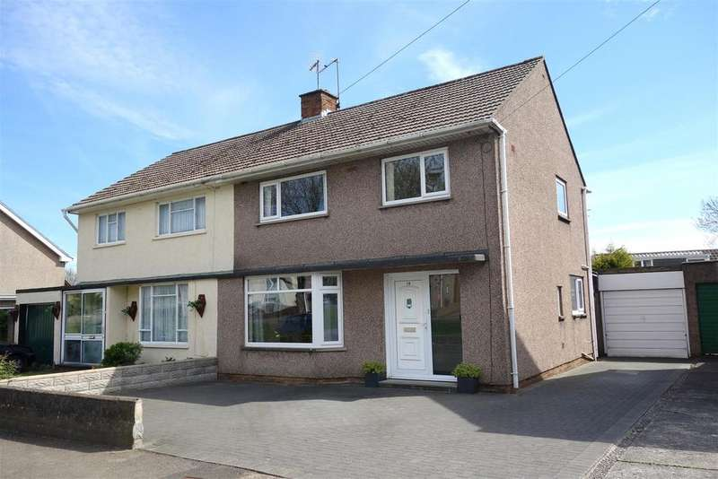 3 Bedrooms Semi Detached House for sale in Dinas Road, Penarth