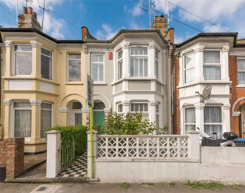 3 Bedrooms Terraced House for sale in Churchill Road, London, NW2