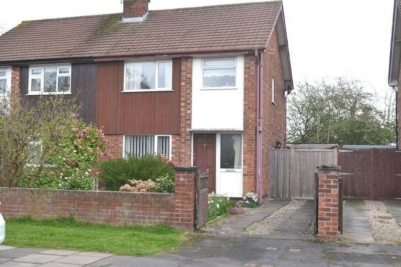 3 Bedrooms Semi Detached House for sale in Coniston Road, Chester