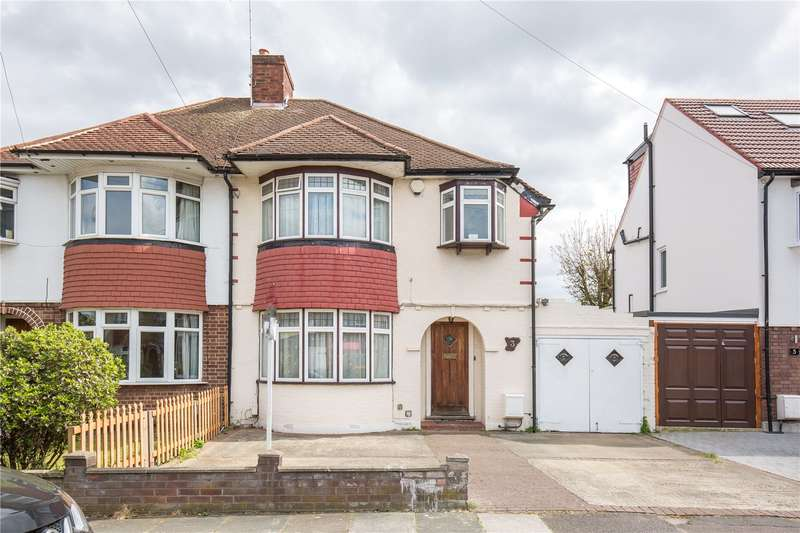 3 Bedrooms Semi Detached House for sale in Rowantree Road, Winchmore Hill, N21