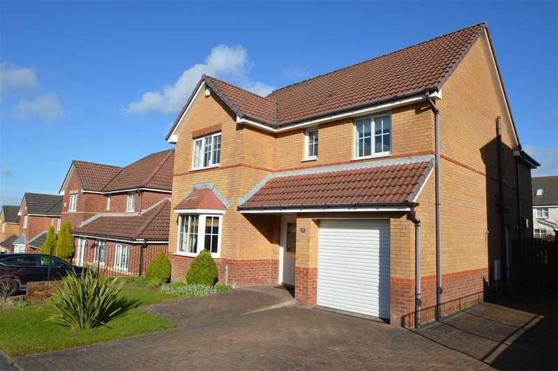 4 Bedrooms Detached House for sale in Huntly Gardens, Blantyre