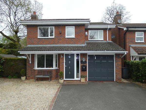 4 Bedrooms Detached House for sale in Glendon Way, Dorridge, Solihull