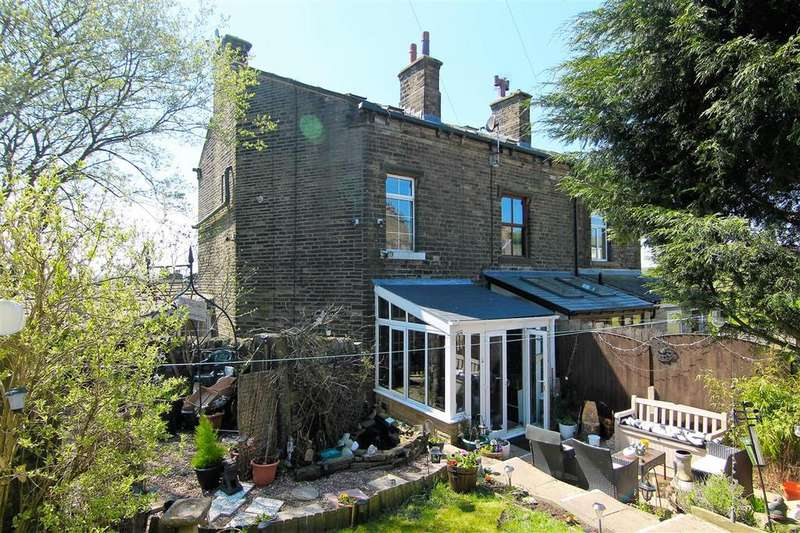 3 Bedrooms End Of Terrace House for sale in Pinfold Cottage, 4 North View, Hebden Bridge