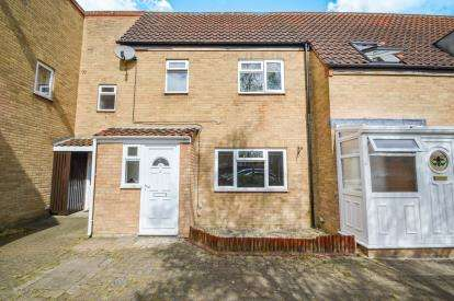 3 Bedrooms Terraced House for sale in Godolphin Close, Freshbrook, Swindon, Wiltshire