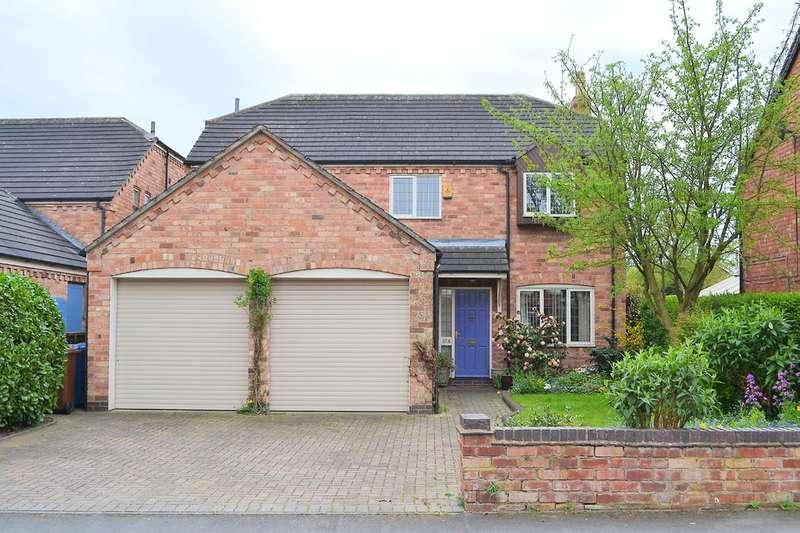 4 Bedrooms Detached House for sale in Furlong Lane, Alrewas