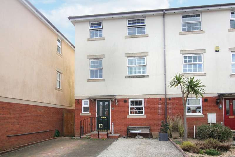 5 Bedrooms End Of Terrace House for sale in Glenholt, Plymouth