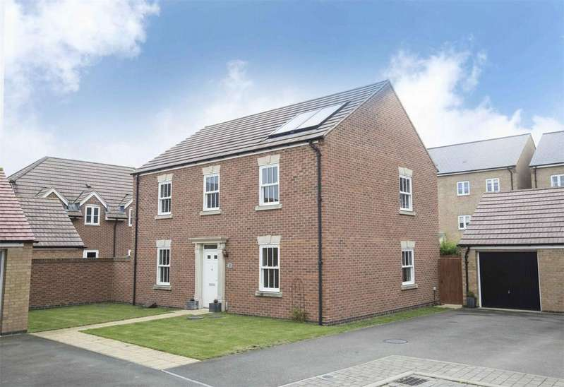 4 Bedrooms Detached House for sale in Croyland Mews, Corby, Northamptonshire