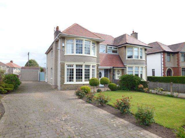 3 Bedrooms Semi Detached House for sale in Broadway, Morecambe, Lancashire, LA4 5XZ