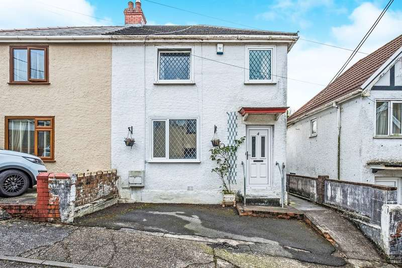 3 Bedrooms Semi Detached House for sale in Minyrafon Road, Clydach, Swansea