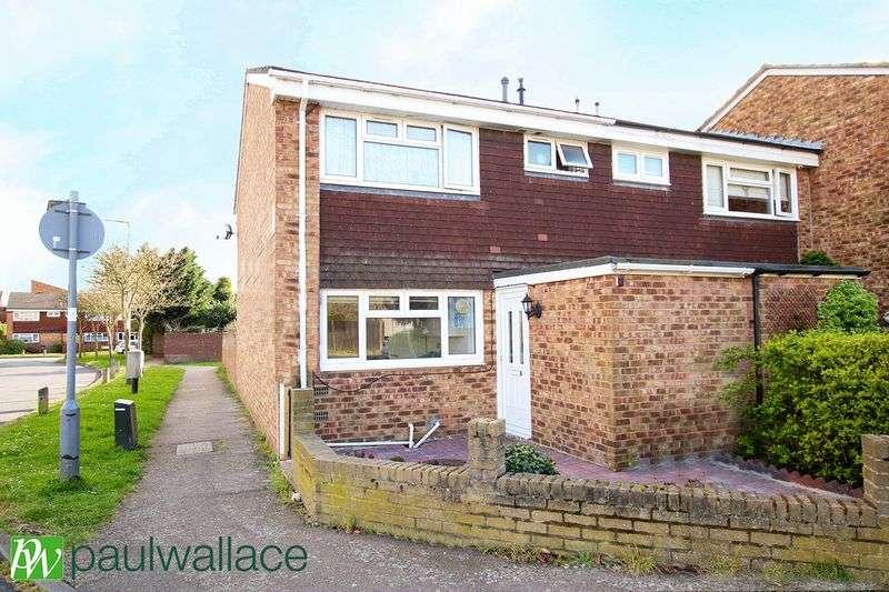 3 Bedrooms Terraced House for sale in Slipe Lane, Turnford