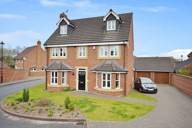 5 Bedrooms Detached House for sale in Holford Moss, Sandymoor, Runcorn