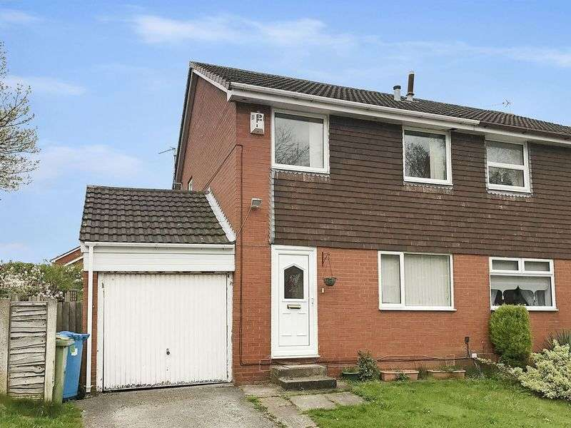 3 Bedrooms Semi Detached House for sale in Helston Close, Sutton Park