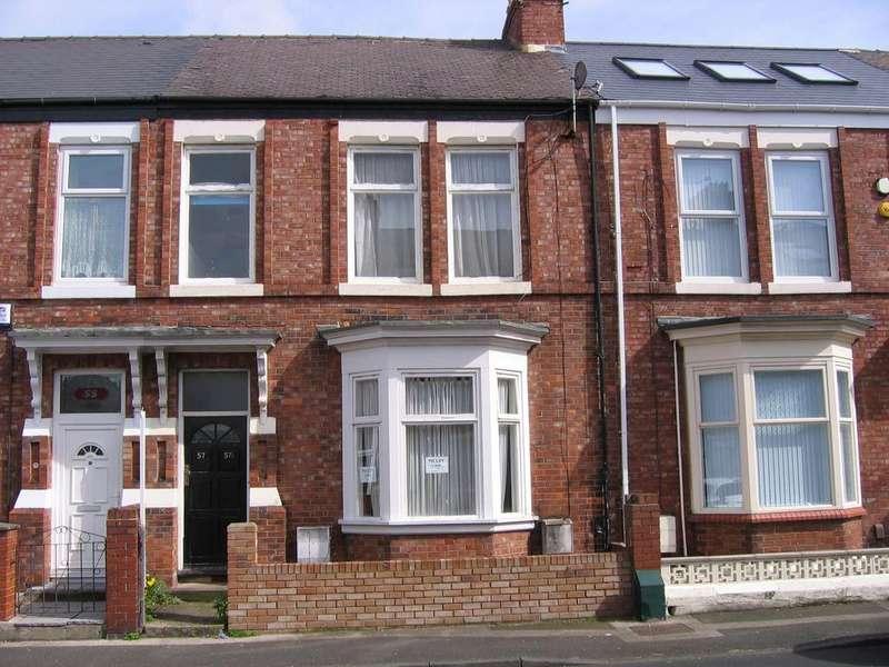 3 Bedrooms Flat for sale in Otter Tce, Sunderland SR2