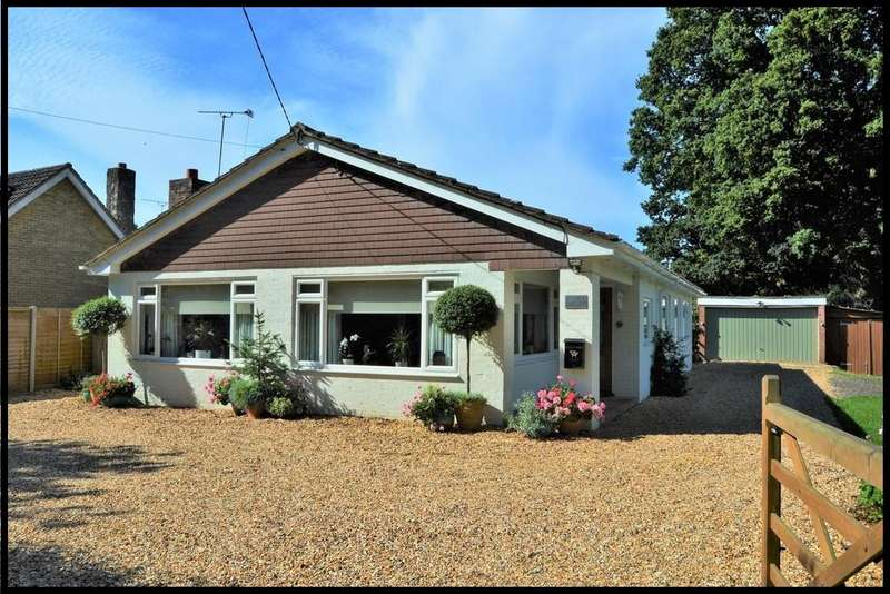 3 Bedrooms Detached Bungalow for sale in Pollards Moor Road, Copythorne, Southampton SO40