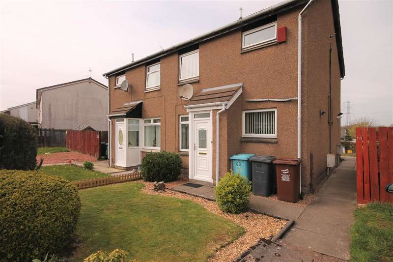 1 Bedroom Terraced House for sale in Crathie Drive, Glenmavis, Airdrie