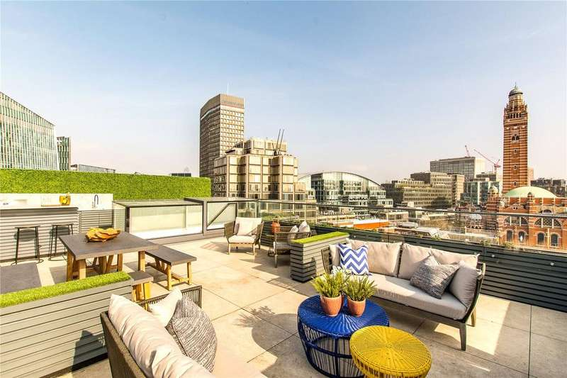 2 Bedrooms Penthouse Flat for sale in 300 Vauxhall Bridge Road, London, SW1V