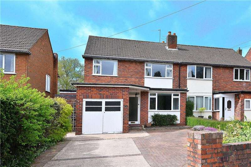 3 Bedrooms Semi Detached House for sale in Oakfield Road, Kidderminster, DY11