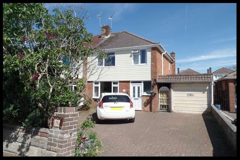 3 Bedrooms Semi Detached House for sale in Bartley Avenue, Rushington, Southampton SO40