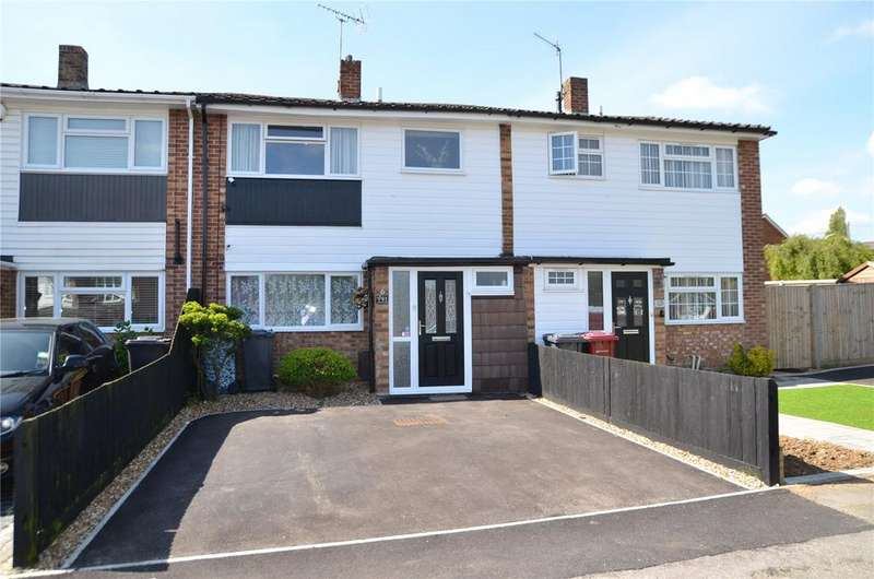 3 Bedrooms Terraced House for sale in Chichester Road, Tilehurst, Reading, Berkshire, RG30