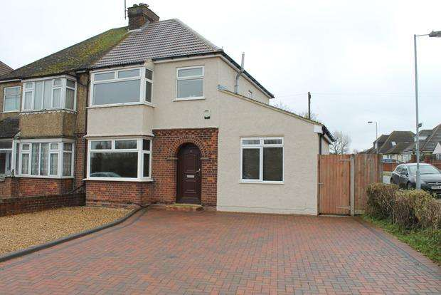 3 Bedrooms Semi Detached House for sale in Icknield Way, Luton, LU3