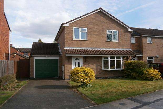 3 Bedrooms Detached House for sale in Heathbrook Drive, Ratby, Leicester, LE6