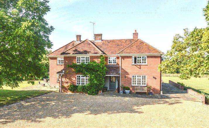 5 Bedrooms Detached House for sale in Farnham, Bishop's Stortford, Hertfordshire, CM23