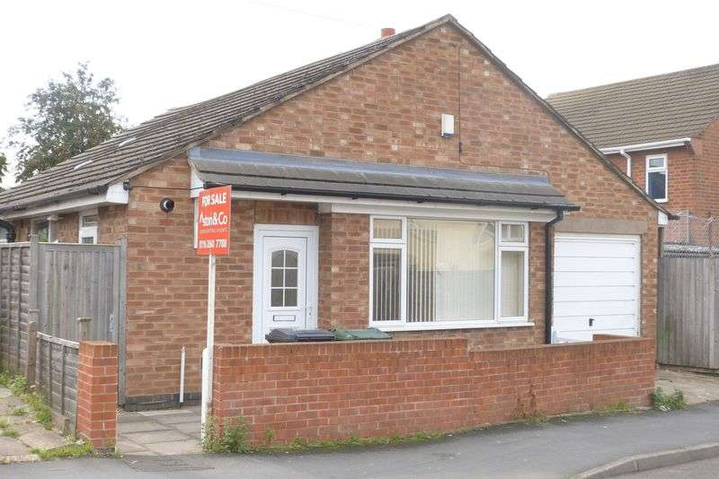 2 Bedrooms Detached Bungalow for sale in Red Hill Lane, Thurmaston, Leicester