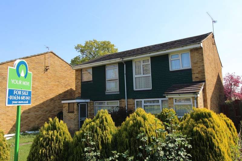 3 Bedrooms Semi Detached House for sale in Lords Wood Lane, Chatham, ME5