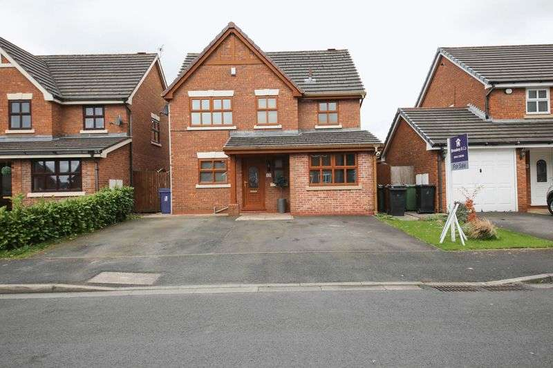 4 Bedrooms Detached House for sale in Vanbrugh Grove, Orrell, Wigan
