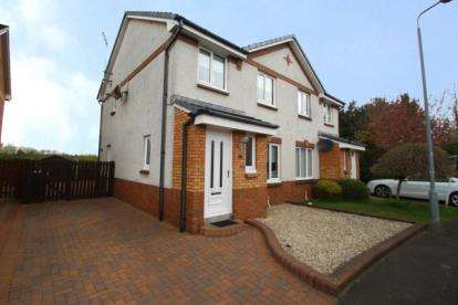 3 Bedrooms Semi Detached House for sale in Turnberry Wynd, Irvine, North Ayrshire