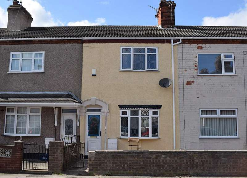 3 Bedrooms Terraced House for sale in Wells Street, Grimsby DN31