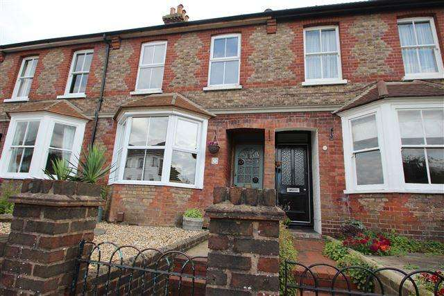 2 Bedrooms Terraced House for sale in Littlehampton Road, Worthing, West Sussex, BN13 1PY
