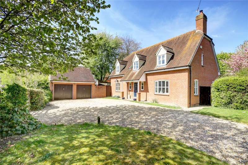 5 Bedrooms Detached House for sale in Green Farm Rise, Froxfield, Marlborough, Wiltshire, SN8