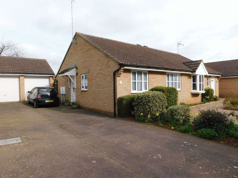 2 Bedrooms Semi Detached Bungalow for sale in Horton Close, Middleton Cheney