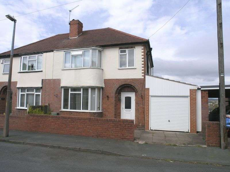 3 Bedrooms Semi Detached House for sale in STOURBRIDGE, WOLLESCOTE, Monument Avenue