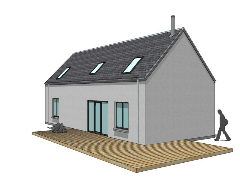 3 Bedrooms Detached House for sale in Plot 1 Loch Awe, Portsonachan, PA33 1BJ