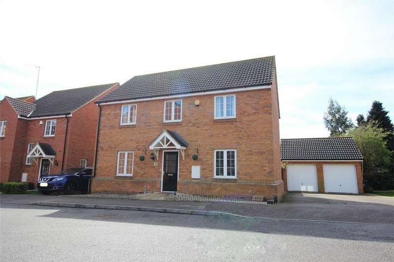 4 Bedrooms Detached House for sale in Brick Kiln Road, Old Town, Stevenage, Hertfordshire