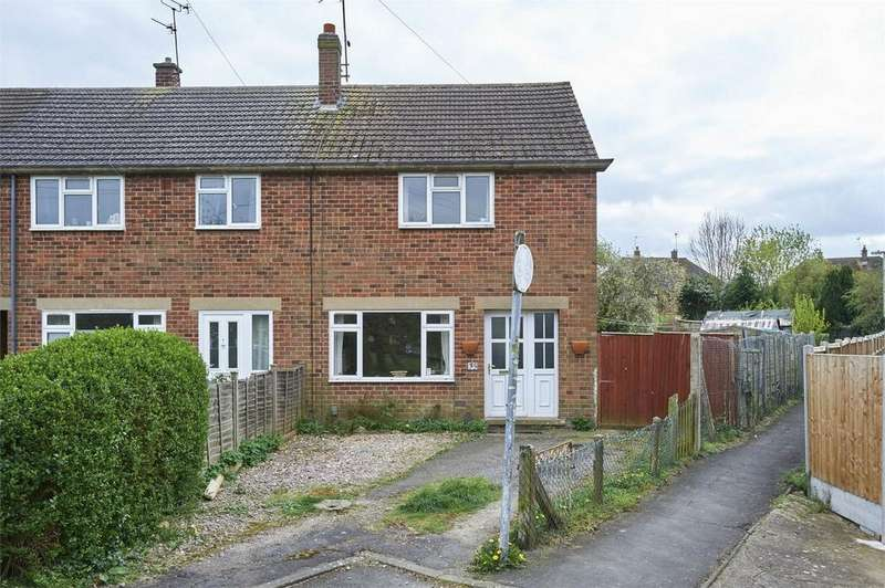 2 Bedrooms End Of Terrace House for sale in Naseby Close, Market Harborough, Leicestershire