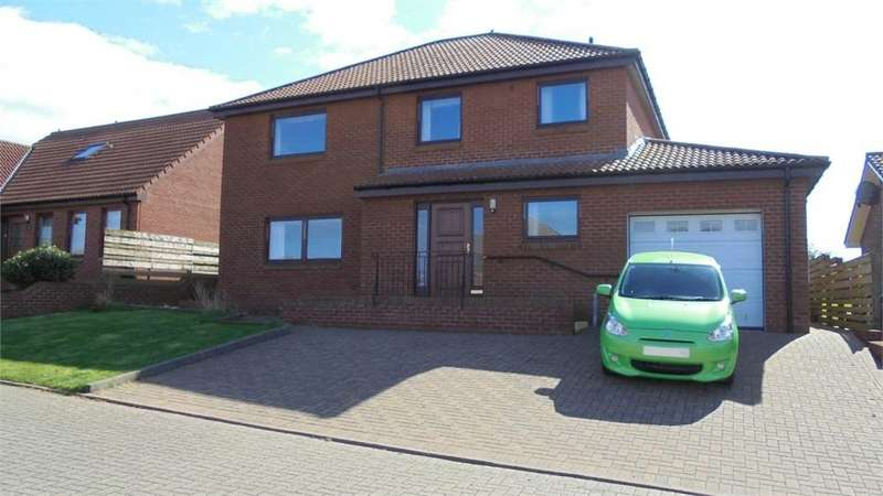 3 Bedrooms Detached House for sale in 7 Eildon View, Tweedmouth, Berwick upon Tweed