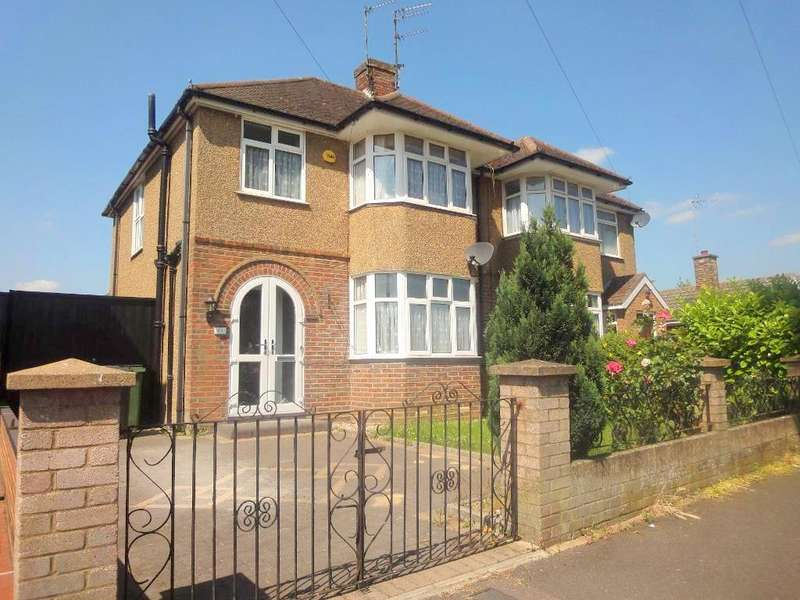 3 Bedrooms Semi Detached House for sale in Nunnery Lane, Luton, LU3 1XB