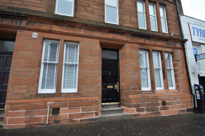 2 Bedrooms Flat for sale in Fort Street, Ayr, South Ayrshire, KA7 1DE