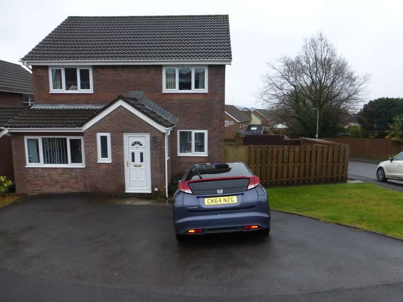 4 Bedrooms Detached House for sale in Heol Brynmor John, Church Village, Pontypridd