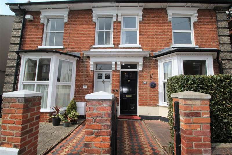 3 Bedrooms House for sale in Lacey Street, Ipswich - Semi-Detached House IP4