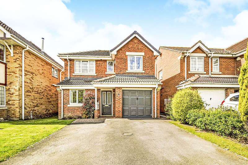 4 Bedrooms Detached House for sale in Plumpton Park, Shafton, Barnsley, S72