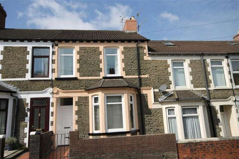 3 Bedrooms Terraced House for sale in Ludlow Street, Caerphilly, CF83