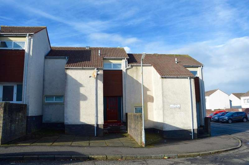 2 Bedrooms Terraced House for sale in Fern Brae, Kincaidston, Ayr, Ayrshire, KA7 3XJ