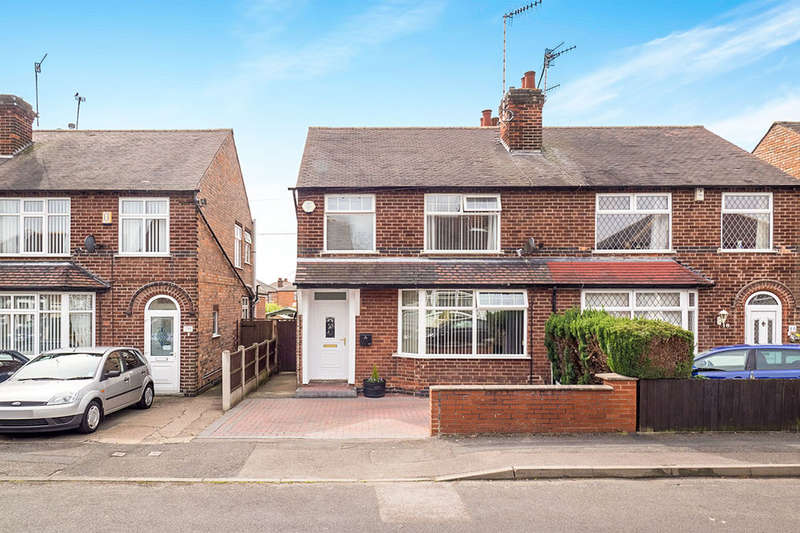 3 Bedrooms Semi Detached House for sale in Sefton Avenue, Stapleford, Nottingham, NG9
