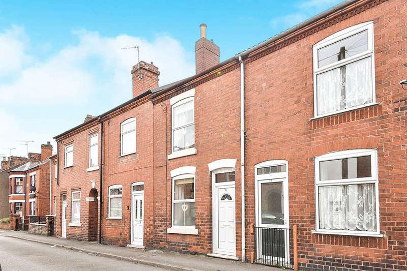 2 Bedrooms Property for sale in Stewart Street, Riddings, Alfreton, DE55