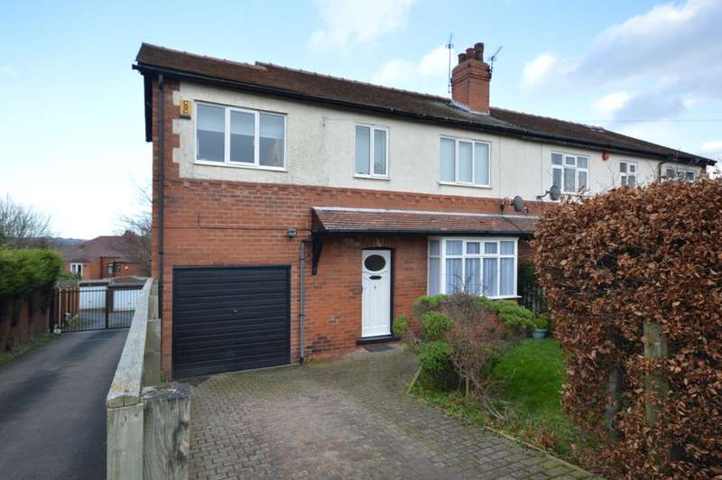 4 Bedrooms Semi Detached House for sale in Castle Road West, Sandal, Wakefield