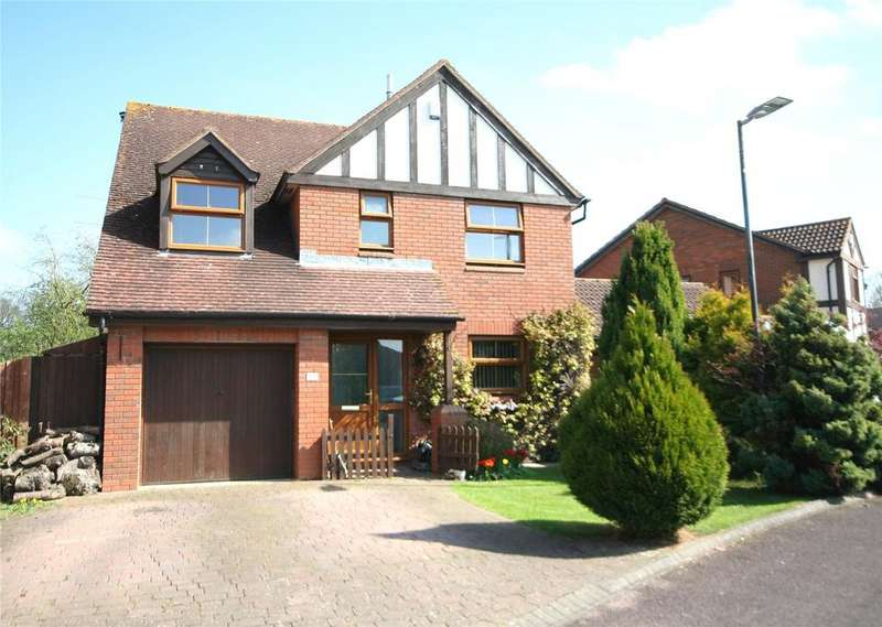 4 Bedrooms Detached House for sale in The Nurseries, Bishops Cleeve, Cheltenham, GL52